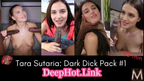 Tara Sutaria 3some blacked fucking sucking big black cock clip